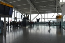 Welcome to the sunny uplands of the B Gates departure area. This is the queue for...