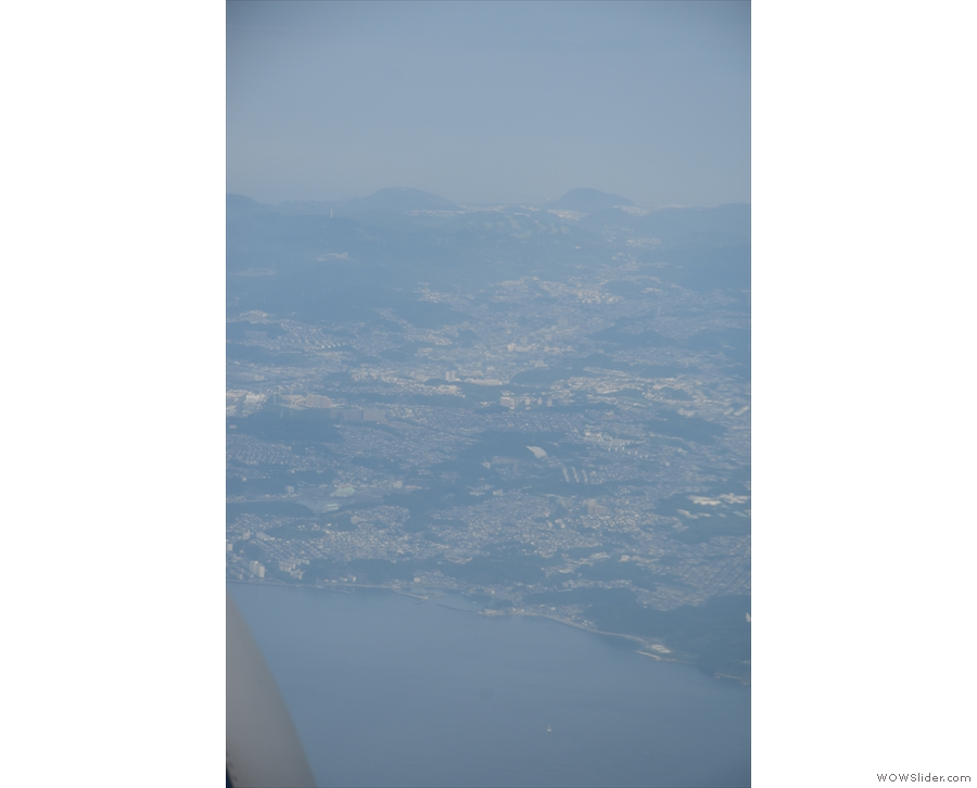 I'm pretty sure that this is Yokohama, part of the urban area west of Tokyo.