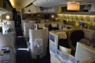 One last look at the (by now) empty Club World cabin...