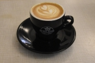 I had Sweet Cup's washed Rwandan single-origin as a flat white...