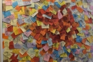 The post-it as art? Or a lot of reminders?