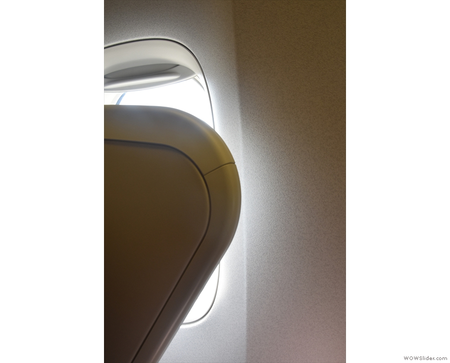 I did have another window, but it was behind my seat.