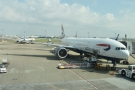 My ride back to London, a British Airways Boeing 777-300.
