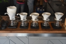 There's a blend, plus multiple single-origins available on pour-over too...