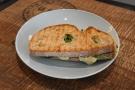 I also had a toasted mozzarella and tomato sourdough sandwich.