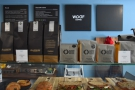 Retail bags of coffee are also for sale, starting with the house espresso from Allpress...