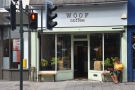 On the north side of Broad Street in Teddington you'll find Woof Coffee.