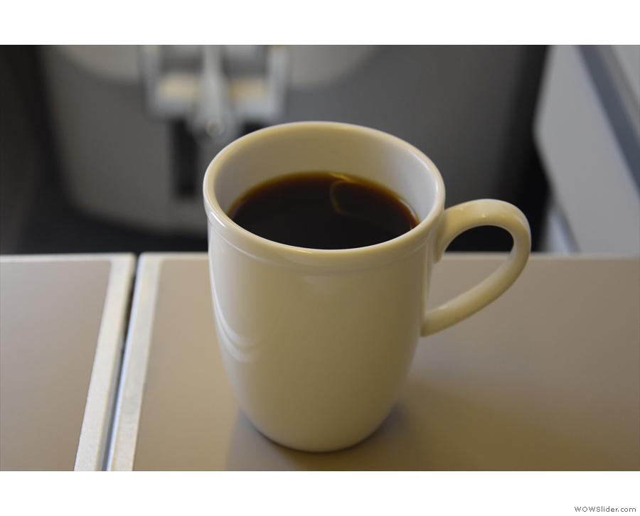 The first of two Union coffees I had on my flight back from Tokyo three weeks ago...