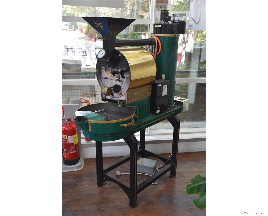 I also recognise this San Franciscan roaster from many a London Coffee Festival.