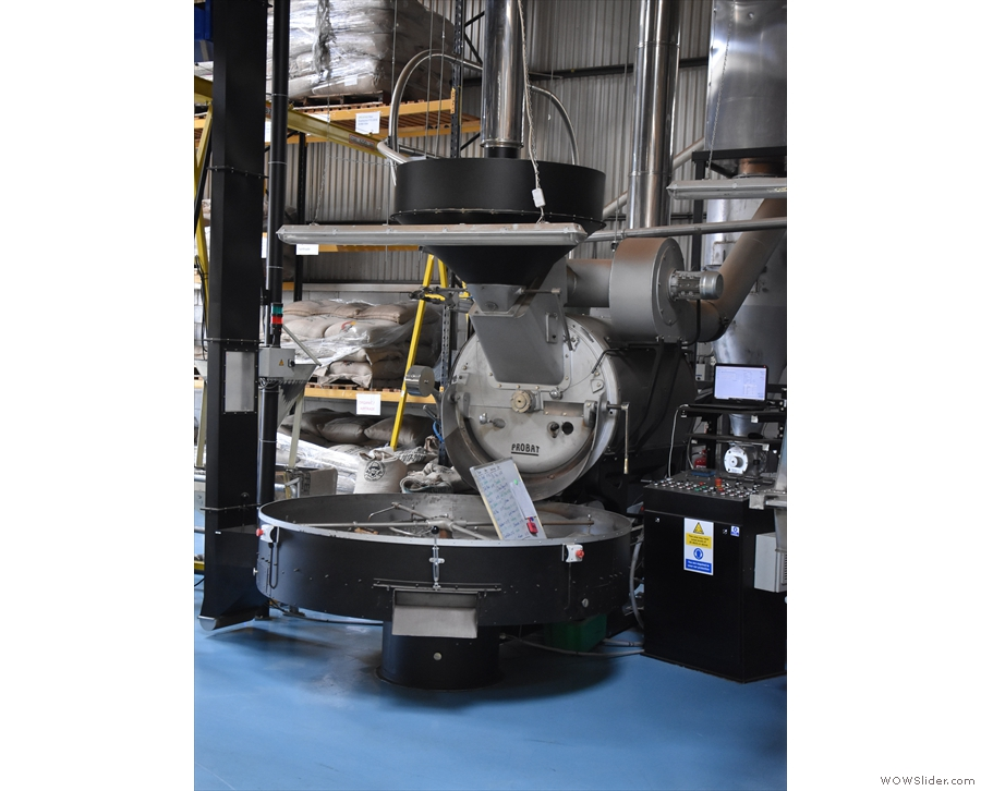 ... Probat Two, the output from these 120kg machines includes British Airways' coffee...