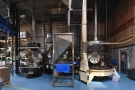 At its heart, these two old-school Probat roasters, which do the bulk of Union's roasting.