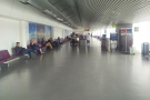 The wide open spaces of the main gates at Terminal 3. Not many seats, though.