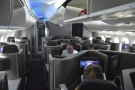 The main business class cabin on my 787-800, seen from the rear...