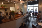 The view back along the counter...