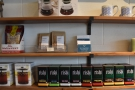 There's also a wide range of tea from Rishi, a local tea merchant.