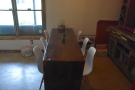 ... and the communal table.