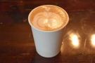 Finally, he saw me off with a Moonwater, the first of the signature lattes.