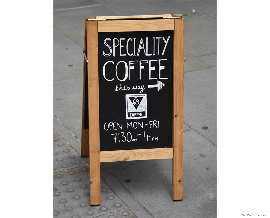 But what's this? Speciality coffee, you say! But where?