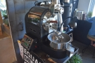 This 1 kg machine is where BLK \ MRKT roasts all its filter coffee.