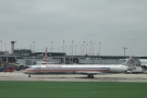 ... and this slightly bigger McDonnell Douglas MD-83 in what looks like very old colours!