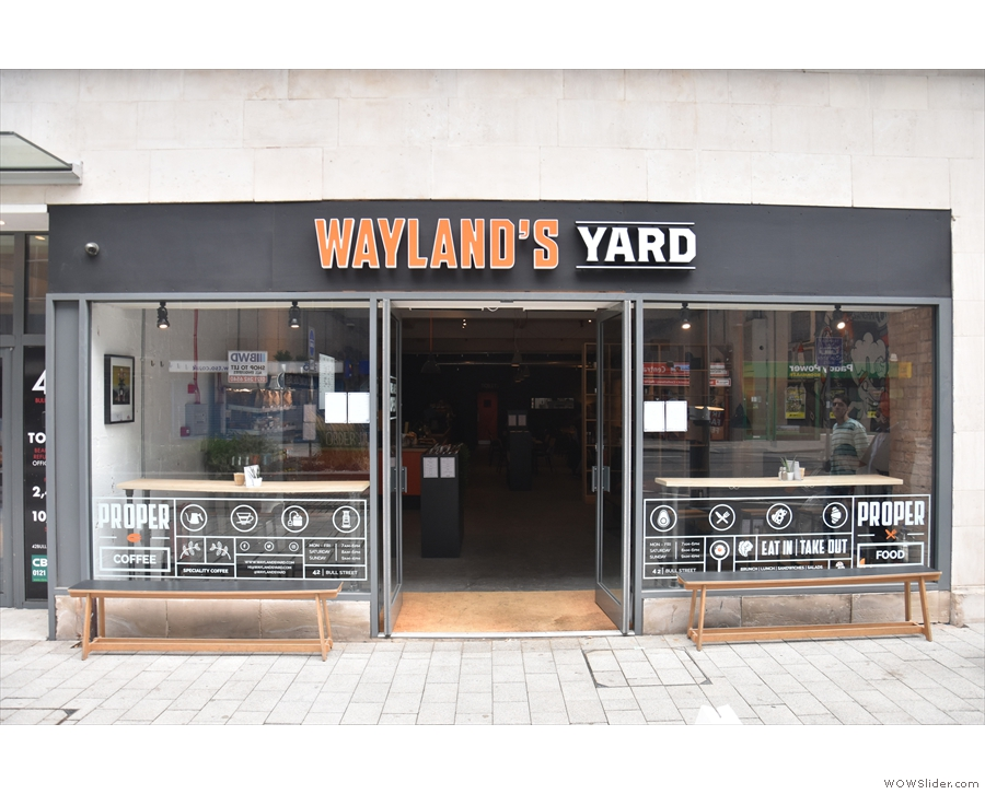 It's Wayland's Yard, by the way, which started life in Worcester. This is the 2nd branch.