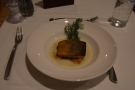 ... followed by pan-roasted Arctic Char...