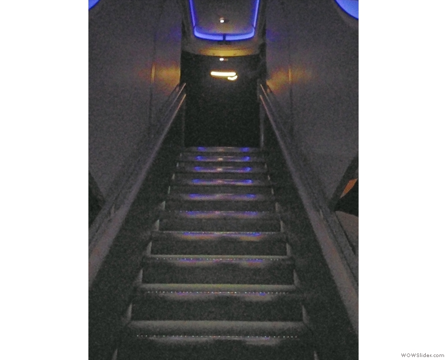 ... with just these stairs to the upper deck. Not going on the top deck was my only regret!