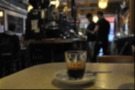 Espresso. In a glass. And some of the happiest staff I've ever seen. Cafe Boscanova, Boscombe.