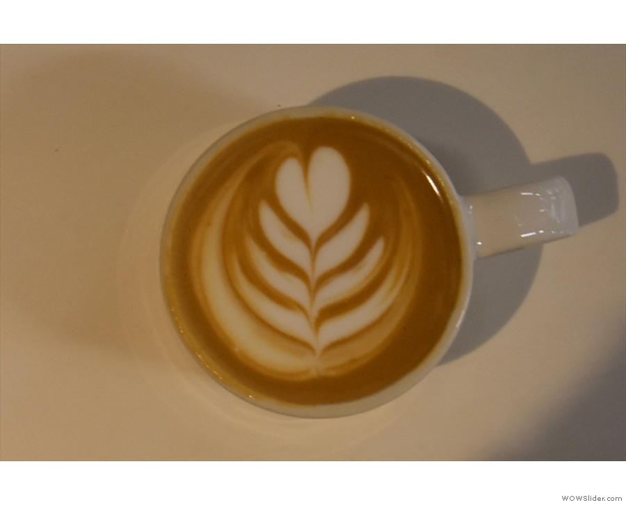 ... and had even better latte art!