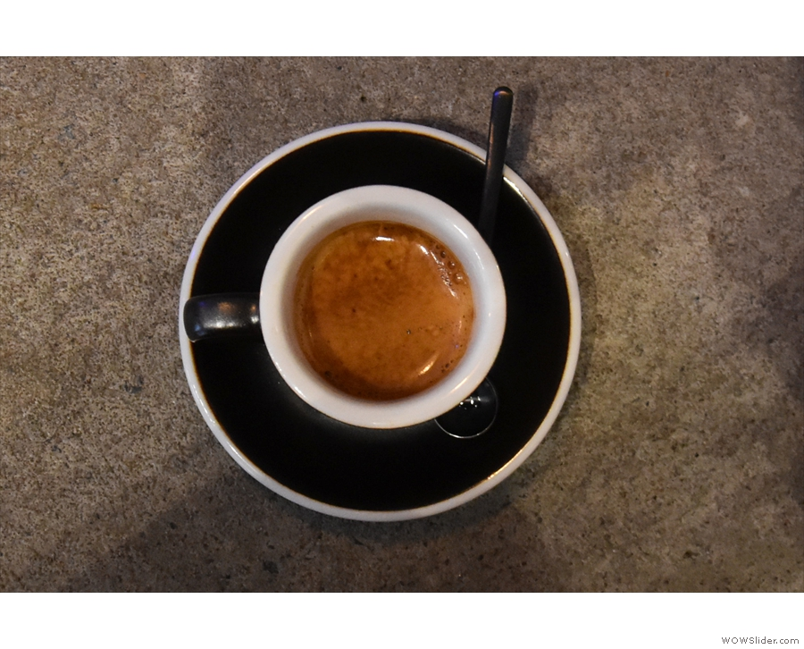 This was the Waykan, a single-origin from Guatemala.