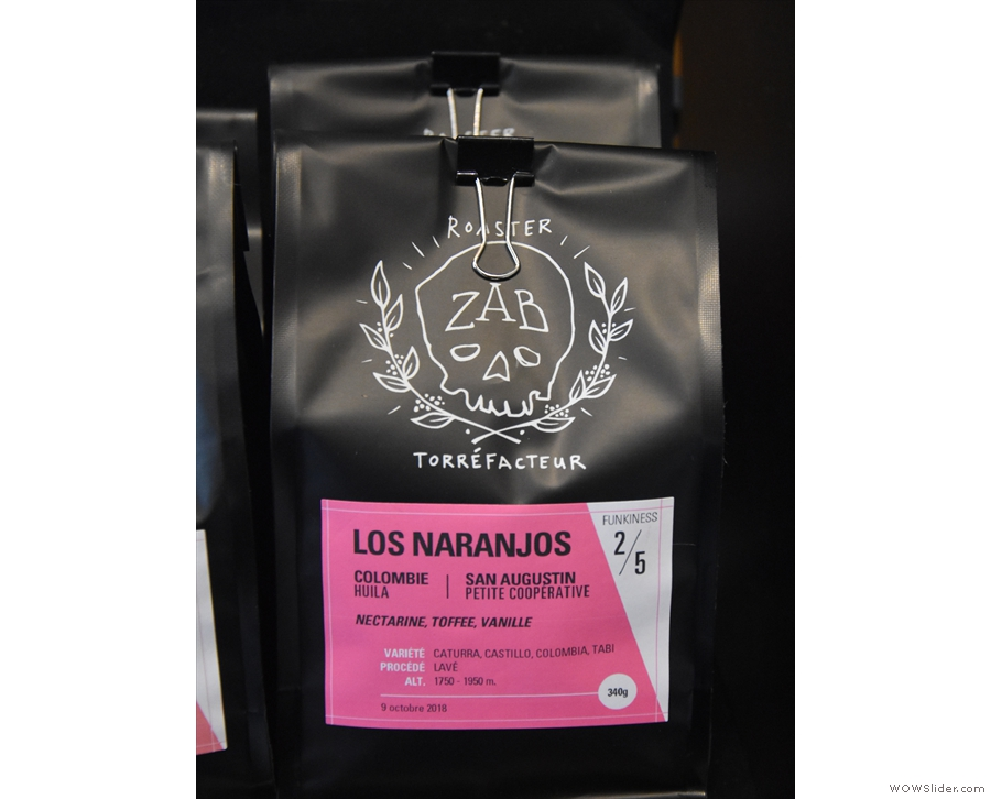 Naturally, I decided to try it out (it was a Los Naranjos single-origin from Colombia).