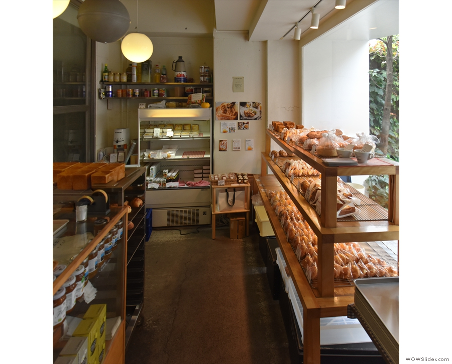 There's one more section to Bread, Espresso &, to your right as you enter.