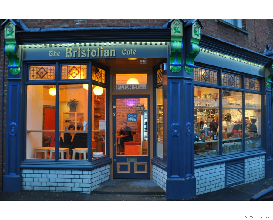 The Bristolian on Bristol's Picton Street, an old legend reinvented