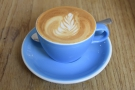 I started off with a flat white, made with the Aylesbury Blend...