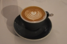 I was back the following day to meet my friend Alison, when I also had a flat white...