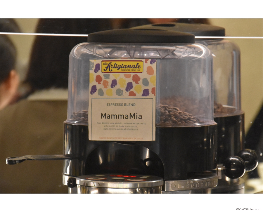 ... Mamma Mia blend from Ditta Artigianale in Florence.