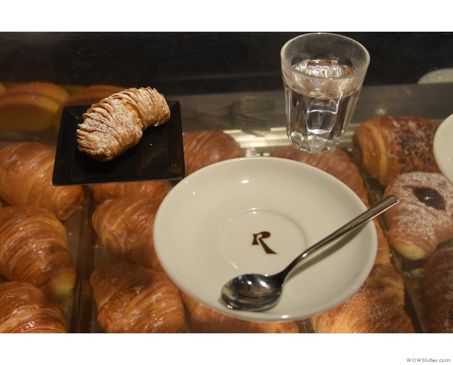 ... plus the reality of more pastries.