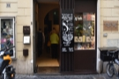 This is pretty much the full width (and height) of Roscioli Caffè, with the door on the left.