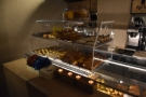 Finally, at the far end, Roscioli ran out of space, so had to build a two-tier display case...