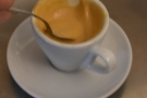 I'll leave you with a shot of the crema, which is incredibly rich and foamy.