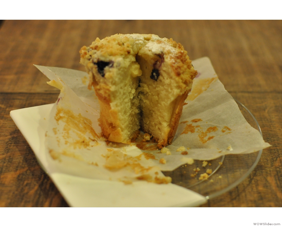 Foxcroft & Ginger, home of the world's best muffin?