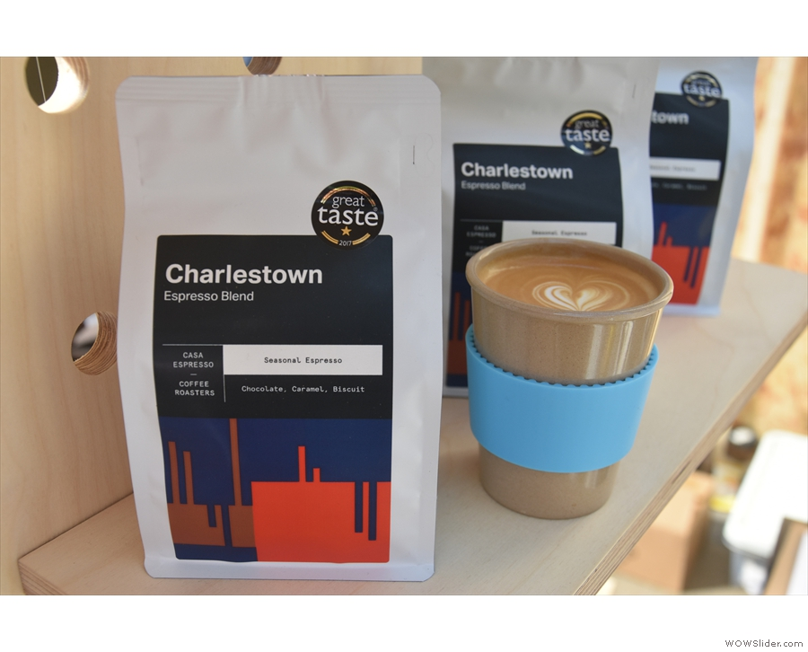 The first outing for my new Eco To Go Cup, at the Glasgow Coffee Festival in May.