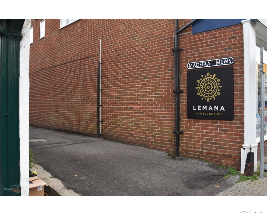 Just off Lymington High Street is Madeira Mews, home of Lemana Coffee & Kitchen.