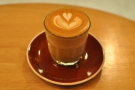 My rich and creamy flat white...