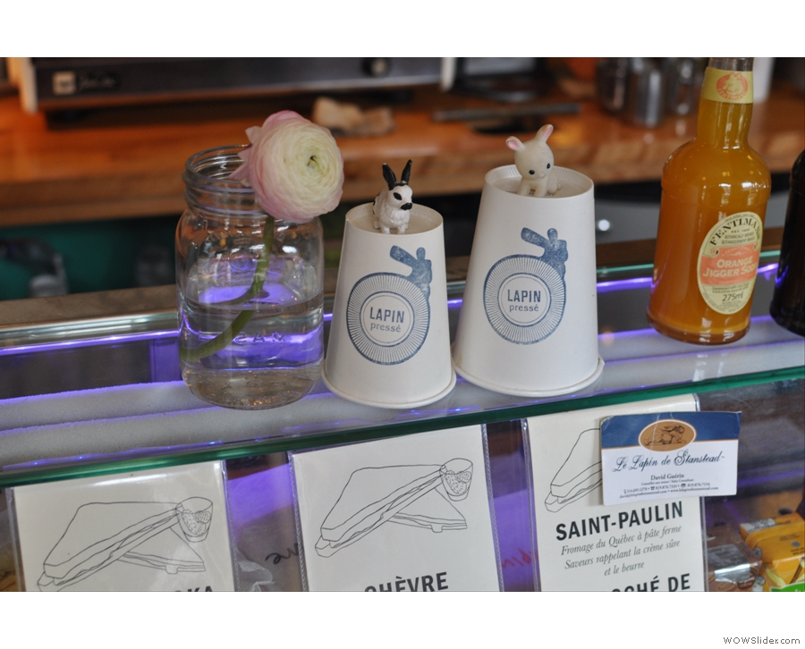 Although it's June, I was still publishing places from my North America trip: here's Montreal's Lapin Presse