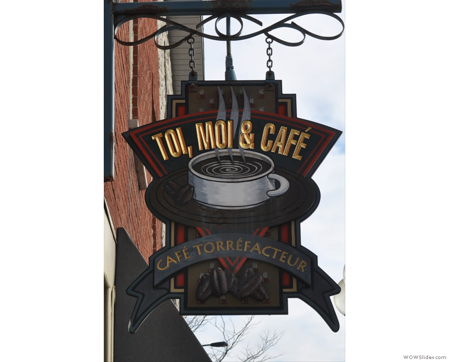 Five Saturdays in the month, five Saturday Supplements! Montreal's Toi Moi & Cafe