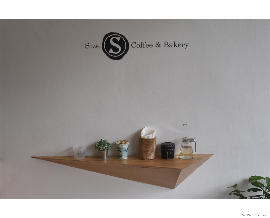 March: small is beautiful at Size S Coffee + Bakery in Bangkok.