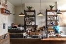 July: the beautiful counter at Monks Coffee Roasters in Amsterdam.