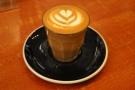 I had the single-origin espresso (from Ethiopia) as a piccolo...
