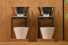 Lowdown also does pour-over coffee using the Kalita Wave filters.